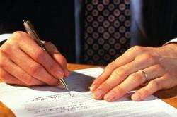 Оформление договора на автокредит