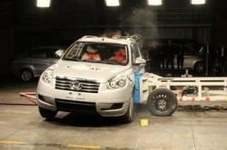 Боковой краш-тест Lifan X60