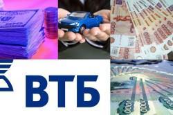 Кредит на автомобиль от ВТБ 24