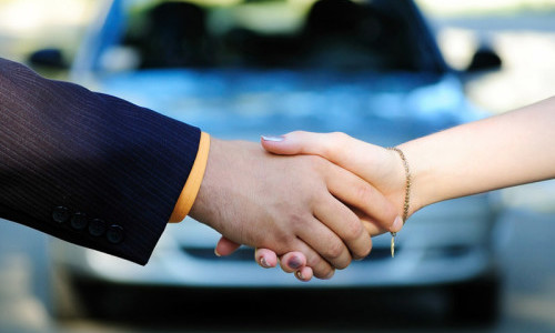 Сделка о покупке автомобиля