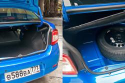 Багажник нового Рено Логан