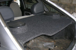 Объем багажного отделения ВАЗ 2114