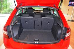 Вместимость багажника Skoda rapid составляет 500 л