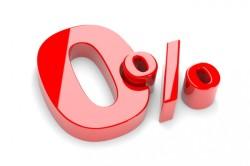 Рассрочка с нулевой процентной ставкой