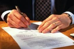 Оформление договора с кредитором